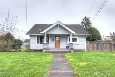 Tacoma Single Family Home For Sale: 1658 S 40th St