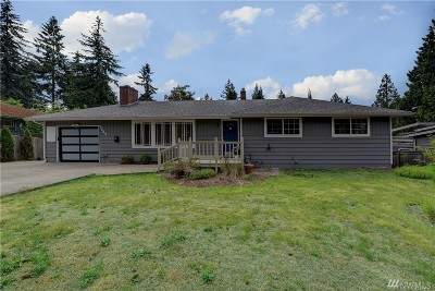 Kirkland Single Family Home For Sale: 7537 126 Ave NE