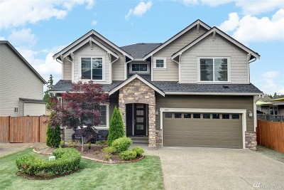 Bothell WA Single Family Home For Sale: $825,000