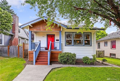 Seattle Single Family Home For Sale: 7518 9th Ave NE