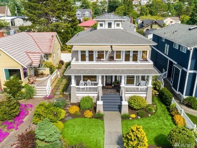 Seattle Single Family Home For Sale: 3436 63rd Ave SW