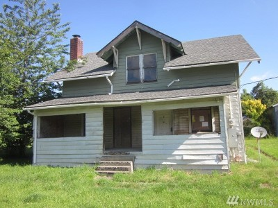 Chehalis Single Family Home For Sale: 1369 Us Highway 12