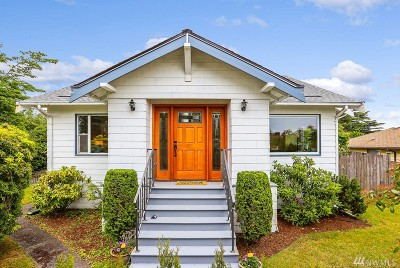Seattle Single Family Home For Sale: 4517 SW College St