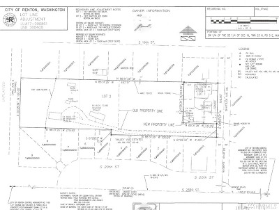 Renton Residential Lots & Land For Sale: 1925 Shattuck Ave S