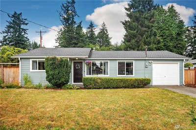 Lacey Single Family Home Pending Inspection: 1415 Notter Lane SE