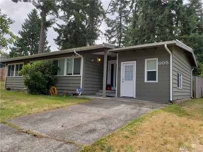 Federal Way Single Family Home For Sale: 805 306th St