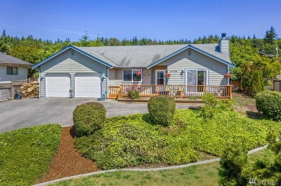 Hansville Single Family Home For Sale: 37498 Hood Canal Dr NE