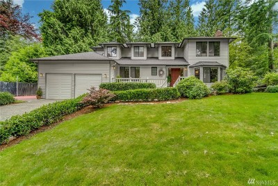 Woodinville Single Family Home For Sale: 18930 NE 186th Place