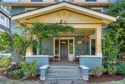 Seattle Single Family Home For Sale: 1611 6th Ave W