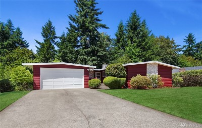 Bellevue Single Family Home For Sale: 6305 121st Ave SE