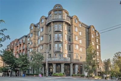Seattle Condo/Townhouse For Sale: 133 Queen Anne Ave N #304