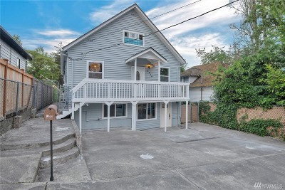 Seattle Single Family Home For Sale: 3410 33rd Ave S