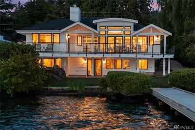 Kirkland Single Family Home For Sale: 12917 Holmes Point Dr NE