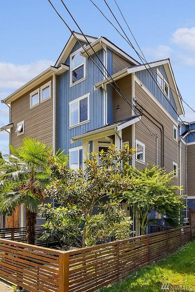 Seattle Single Family Home For Sale: 6521 5th Ave NE #B
