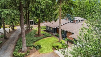 Woodinville Single Family Home For Sale: 15206 206th Ave NE