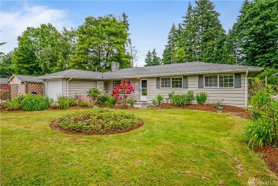 Lynnwood Single Family Home For Sale: 1315 218th St SW
