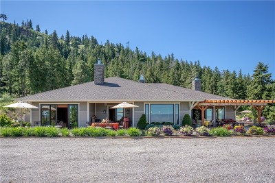Chelan County Single Family Home For Sale: 5574 Big Springs Ranch Rd
