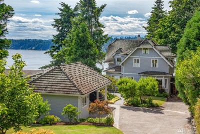 Bainbridge Island Single Family Home For Sale: 15435 Harvey Rd NE