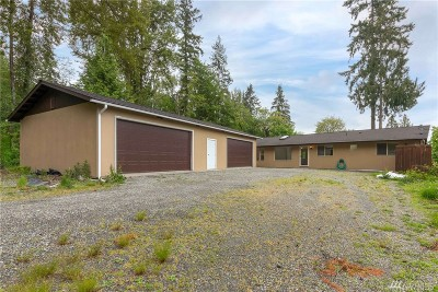 Snohomish Single Family Home For Sale: 10302 Elliott Rd
