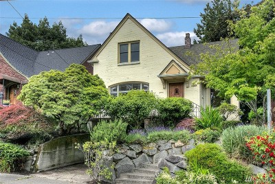 Seattle Single Family Home For Sale: 2515 20th Ave E