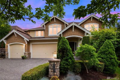 Sammamish Single Family Home Contingent: 21441 SE 3rd Place