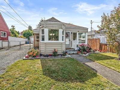 Tacoma Single Family Home For Sale: 6418 S Bell St