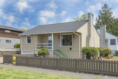 Seattle Single Family Home For Sale: 4822 SW Juneau
