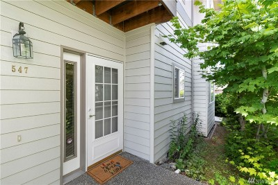 Bellingham Condo/Townhouse For Sale: 547 W Kellogg St