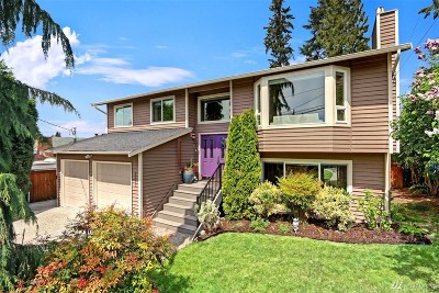 Seattle Single Family Home For Sale: 3510 NE 137th St