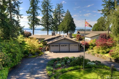 Thurston County Single Family Home For Sale: 8501 Island View Ct NE