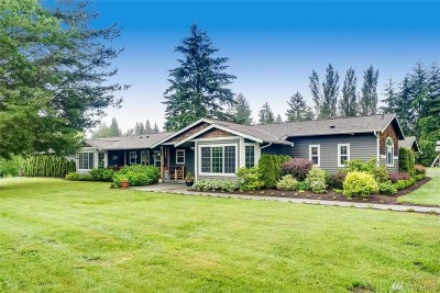 Snohomish Single Family Home For Sale: 6806 Interurban Blvd