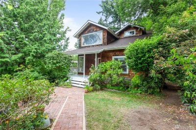 Seattle Single Family Home For Sale: 4028 SW Webster St