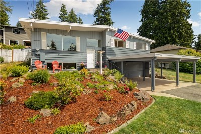 Shoreline Single Family Home For Sale: 218 NW 184th St