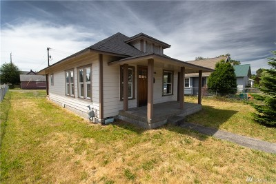 Centralia Single Family Home For Sale: 1201 B St