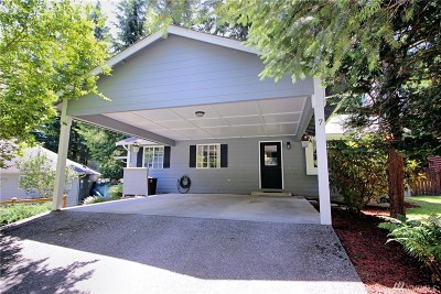 Bellingham WA Single Family Home For Sale: $289,000