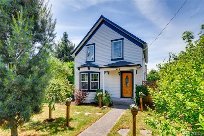 Snohomish Single Family Home For Sale: 132 Ave E