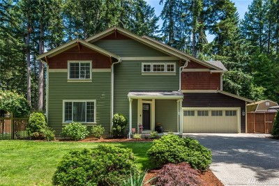 Gig Harbor Single Family Home For Sale: 10521 Minterwood Dr NW