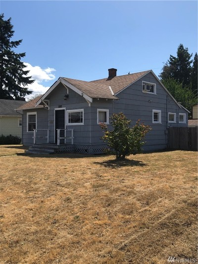 Tacoma Single Family Home For Sale: 5102 S Pine St