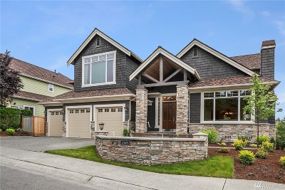 Sammamish Single Family Home For Sale: 2135 204th Place NE