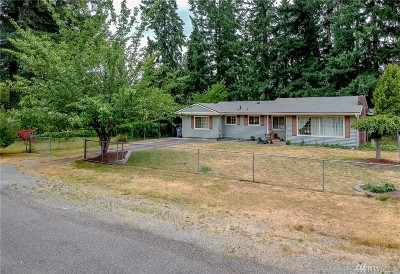 Lakewood Single Family Home For Sale: 8319 Forest Ave SW