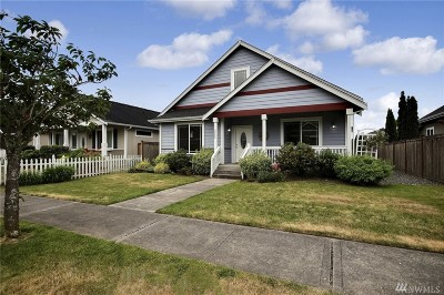 Sumner Single Family Home For Sale: 6422 160th Ave E