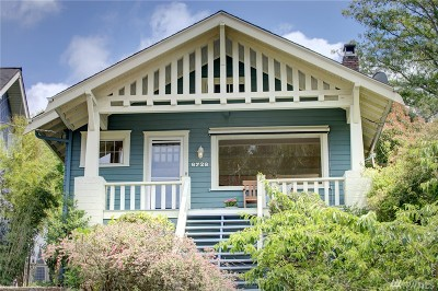 Seattle Single Family Home For Sale: 6728 2nd Ave NW