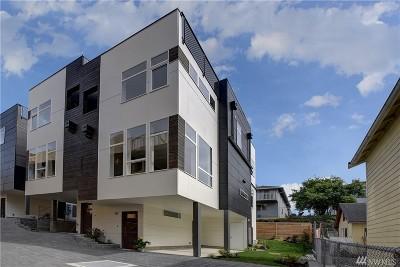 Seattle Single Family Home For Sale: 3931 S Brandon St #B