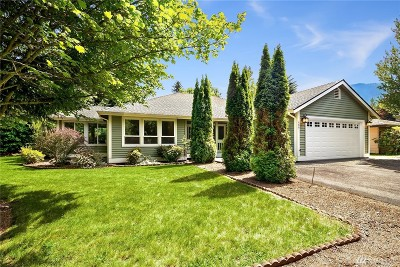 North Bend WA Single Family Home For Sale: $589,000