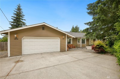 Puyallup Single Family Home For Sale: 1316 Valley View Dr