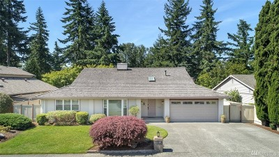 Renton Single Family Home For Sale: 14661 SE 173rd St