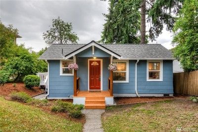 Seattle Single Family Home For Sale: 5444 40th Ave SW