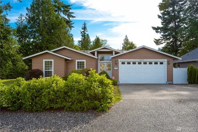 Blaine Single Family Home Contingent: 8201 Chilliwack