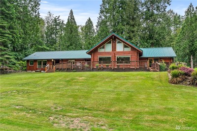 Lewis County Single Family Home Pending Inspection: 349 Greenwater Dr