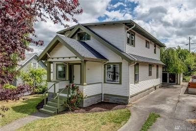 Bellingham Single Family Home For Sale: 914 Mason St